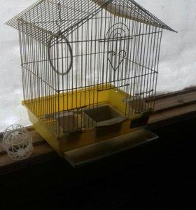 Клетка для попугаев и других птиц