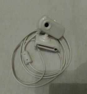 Веб - камера новая в белом цвете