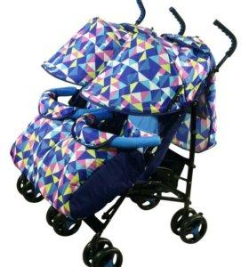Новая коляска для двойняшек