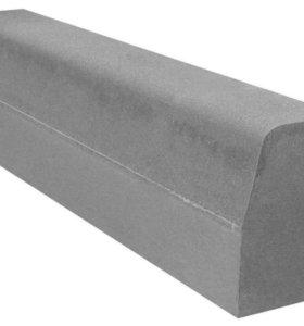 Камень бортовой (бордюр дорожный)