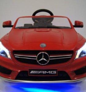 Электромобиль детский Мерс CL red красный
