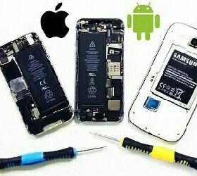 Ремонт сотовых телефонов и планшетов.