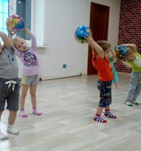 Детский фитнес 3-4 года