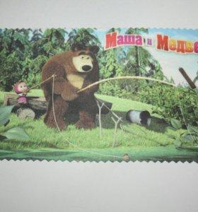 Салфетка для оптики Маша и Медведь