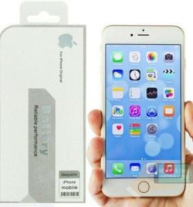 Оригинальный аккумулятор iPhone 6. Новый. Акция.