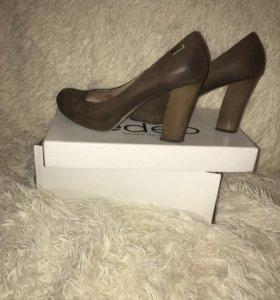 Туфли кожаные edeo 40 размер