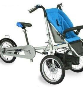 Одноместная велосипед - коляска - трансформер Taga