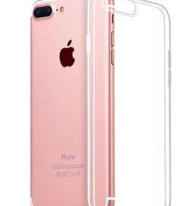 Чехол прозрачный для iPhone 7