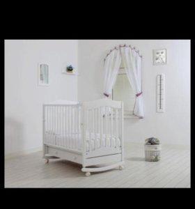 Кроватка гандылян и матрас