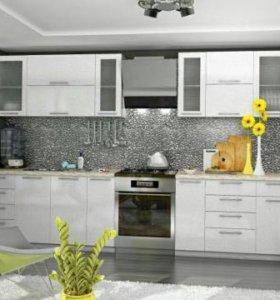 Кухня белая олива модуль 3.1 м