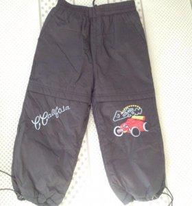 Утеплённые брюки для мальчика