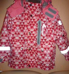 Huppa куртка 3 в 1 на рост 104см