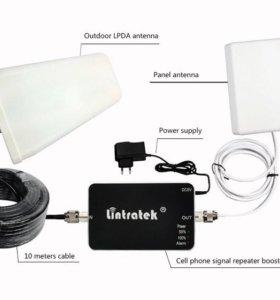 Усилитель сотовой связи Lintratek GSM/4G LTE