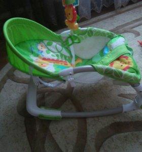 Детское кресло-качели Фишшер-Прайс