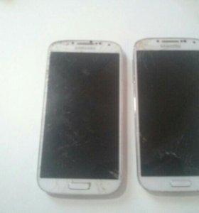 Samsung Galaxy S4 на запчасти - 2 шт.