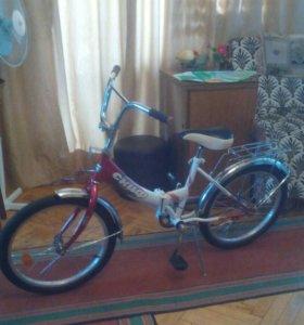 Велосипед детский складной СКИФ (7-15 лет)