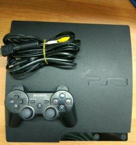 Игровая консоль Sony PS3 300Gb+3 игры
