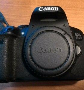 Canon EOS 650D Body (без объектива) б/у