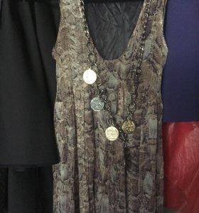 Сарафан платье шелк