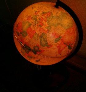 Ночник Глобус
