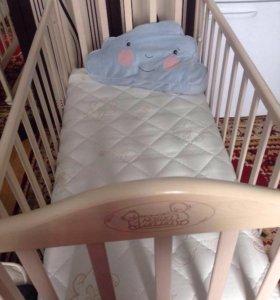 Матрас ортопедический в детскую кроватку