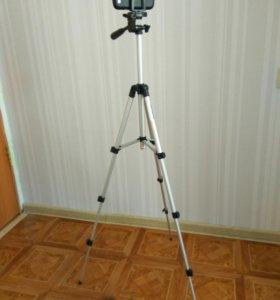 Штатиф для фотоаппарата телефона или для лазерного