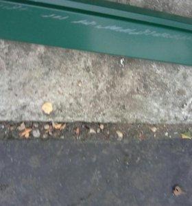 Ветровая планка цвет зеленый мох