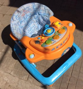 Ходунки Baby Care Tom&Mary (Blue Yellow