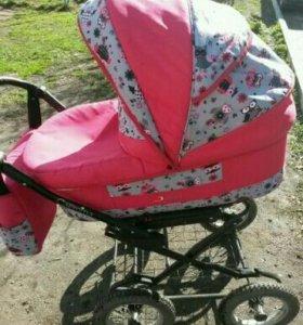 Детская коляска + автолюлька