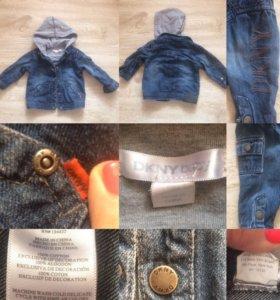 Джинсовая курточка DKNY