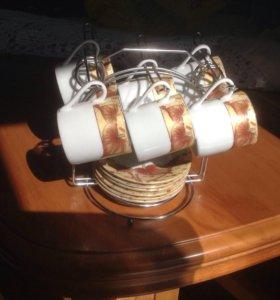 Подарочный минисервиз кофейных чашек