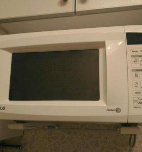 Микроволновая печь с грилем Lg 4041u