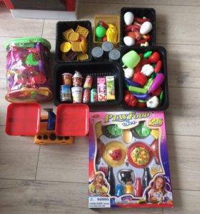 Набор продуктов для кукольной кухни