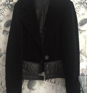 Пиджак бархатный,42-44