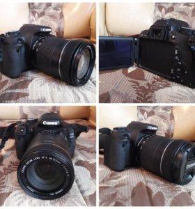 Зеркальный фотоаппарат canon EOS 600 D