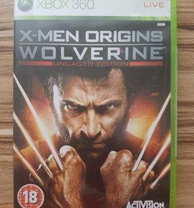 Xbox 360. X-Men Origins wolverine. Лицензия