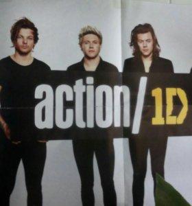 1D постеры