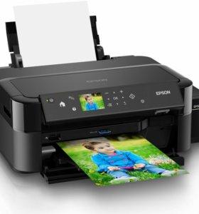Принтер EpsonL810 для  печати фотографий + на диск