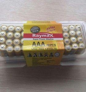 Батарейки ААА алкалиновые