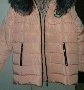 Новая куртка Зима р-р 48-50