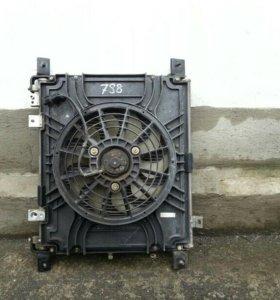 Радиатор кондиционера Mazda Bongo