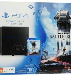 Sony PlayStation 4 1 тб (Star Wars Bundle)