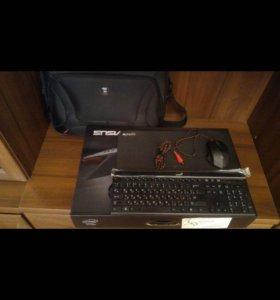 Очень игровой ноутбук Asus