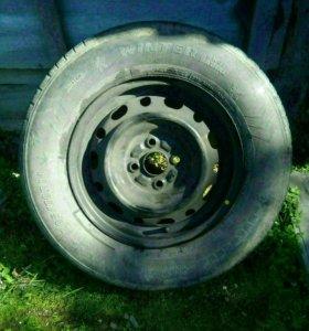 Комплект колес на R14,205,70.