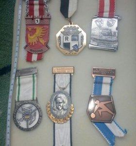 Немецкие медали 70-х годов!!!
