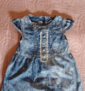 Детское джинсовые платье