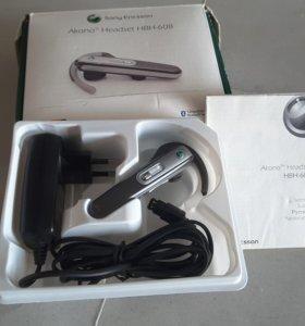 Bluetooth-гарнитура Sony Ericsson Akono HBH-608