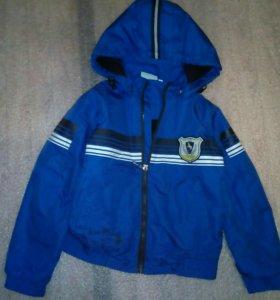 Ветровка-куртка 122см