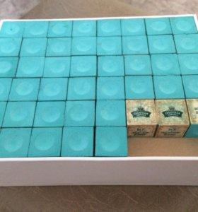 Коробка мелков для кия