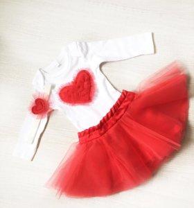 Боди и юбка